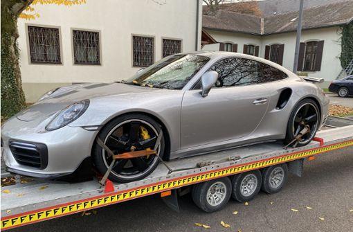 Zoll stellt geschmuggelten Porsche 911 sicher
