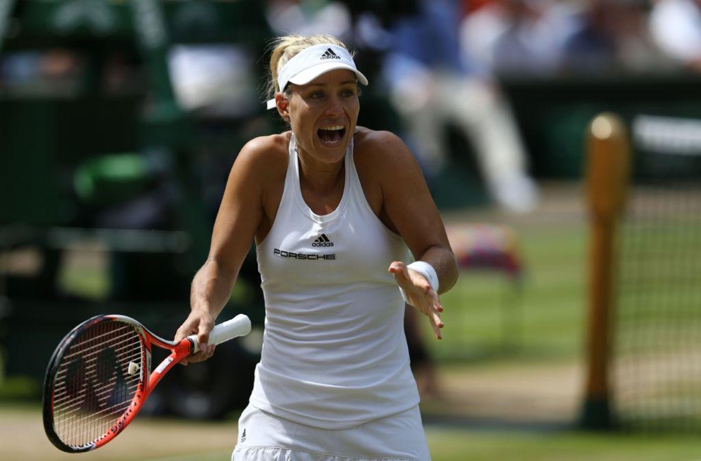 Angelique Kerber steht im Wimbledon-Finale. Foto: AFP