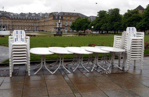 Am Dienstag sollte man den Schirm nicht vergessen. Foto: Leserfotograf remstal-knipser
