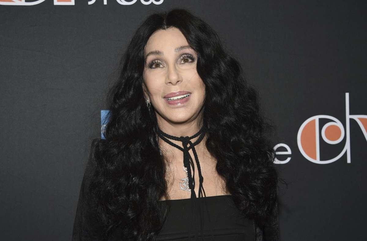 Kurz vor ihrem 75. Geburtstag kündigt Cher einen Film über ihr Leben an (Archivbild). Foto: dpa/Evan Agostini