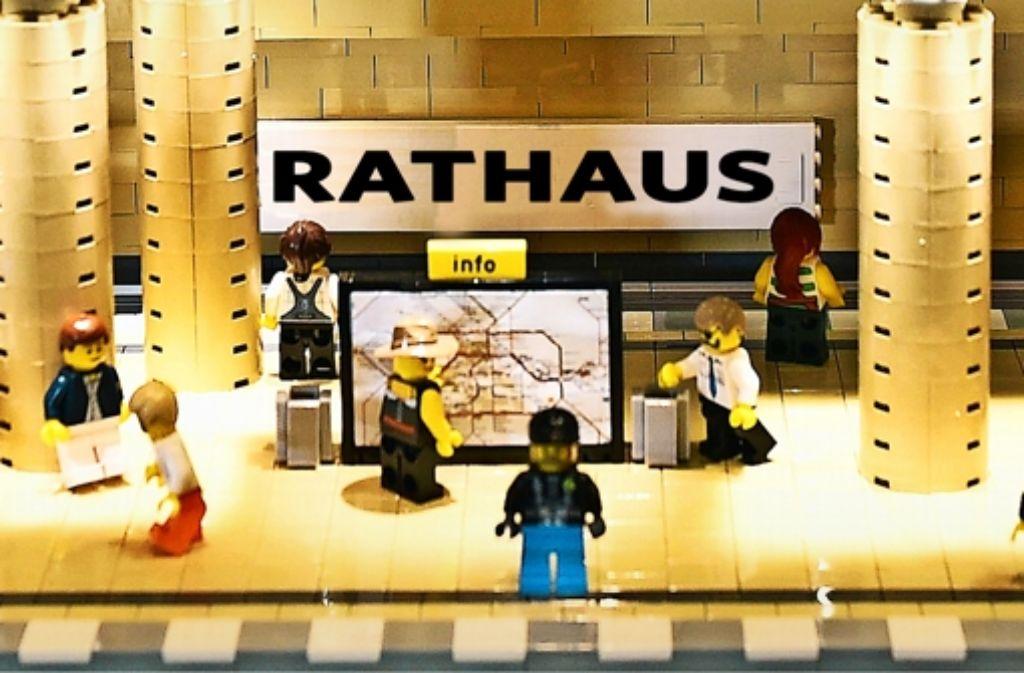 Endstation Lego: Ludwigsburg ist so innovativ, da  können andere nur    Bauklötze staunen. Foto: dpa