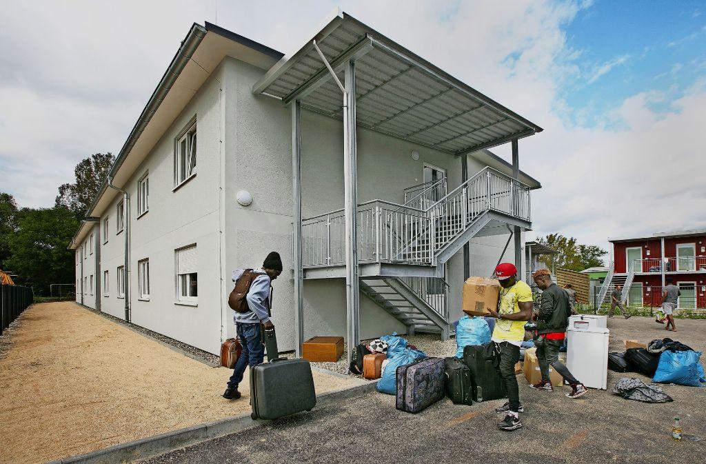 Vorerst werden 70 Flüchtlinge in die neue Unterkunft einziehen. Foto: Horst Rudel