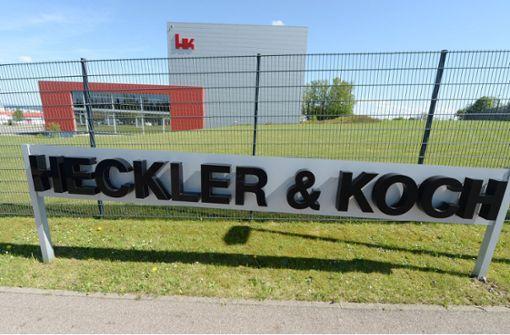 Empörung über Waffen-Tweet von Heckler & Koch