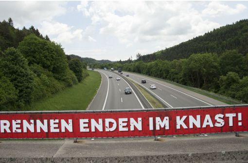 Raser geben in Baden-Württemberg weiterhin Gas