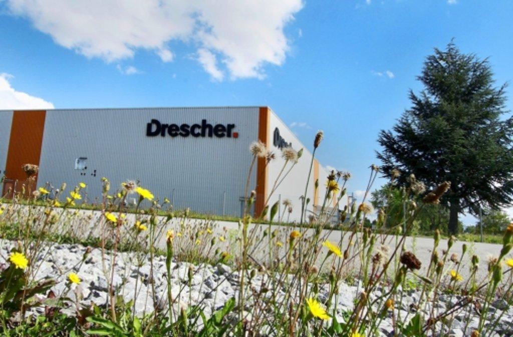 2012 kam  das Aus für Drescher. Jetzt soll das Gelände verkauft werden Foto: factum/Bach
