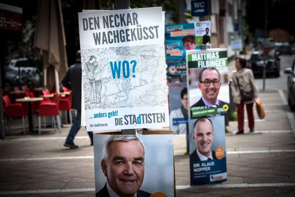 Am 25. Mai haben die Stuttgarter einen neuen Gemeinderat gewählt.  Foto: Achim Zweygarth