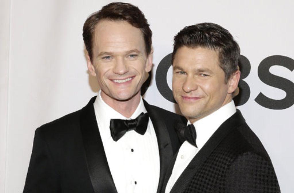 Neil Patrick Harris (links) und David Burtka sind jetzt verheiratet. Foto: dpa