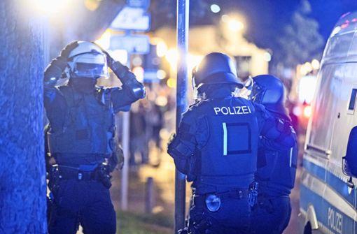 Polizei ist auch in Esslingen alarmiert