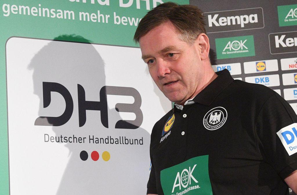 Geht seine Aufgabe beim Deutschen Handballbund hoch motiviert an: Der Isländer Alfred Gislason. Foto: dpa/Julian Stratenschulte
