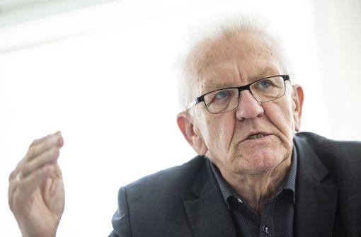 Kretschmann plant einen Appell an Impfgegner