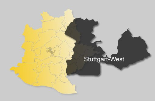 So hat Stuttgart-West gewählt