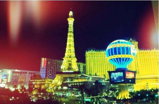 Beeindruckendes Las Vegas. Foto: Stefanie Ren