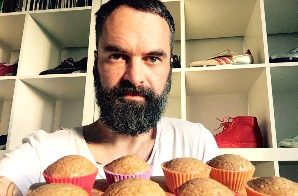 Perfekt für die Tupperdose und damit fürs Festival geeignet: Thorstens Zitronen-Muffins. Foto: Thorsten Weh