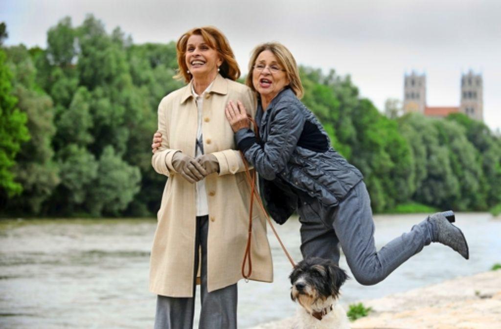 Im Film sind sie keine Freundinnen: Senta Berger (li.) und Cornelia Froboess. Foto: dpa