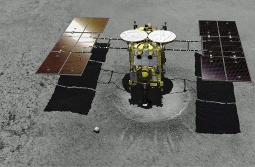 Japanische Raumsonde landet auf Asteroiden