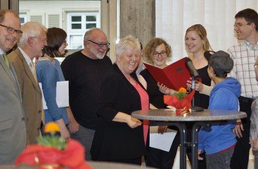 Auszeichnung für Anna-Haag-Haus-Band