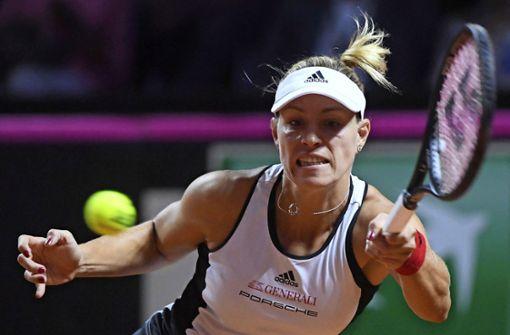 Angelique Kerber tritt gegen Kroatin Donna Vekic an