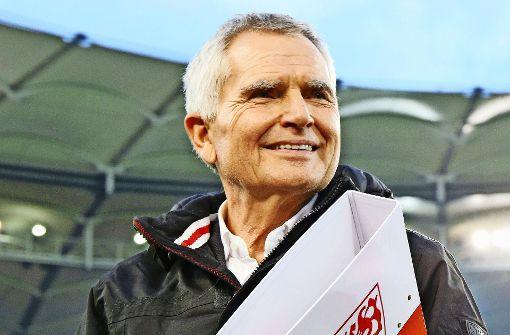 Der starke Mann beim VfB Stuttgart: Präsident Wolfgang Dietrich Foto: Baumann