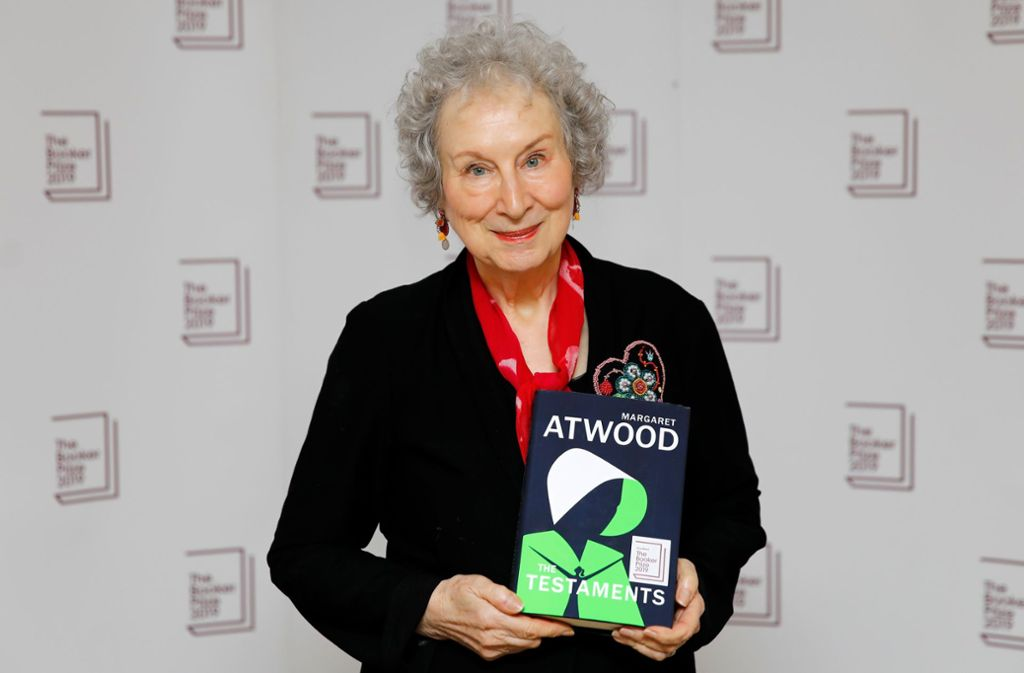 "Margaret Atwood bekam den Preis für den Roman ""The Testaments"". Foto: AFP/TOLGA AKMEN"