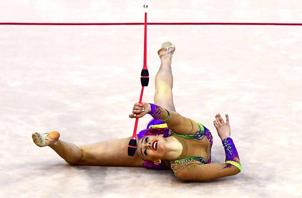 Die Beschwerden sind zu groß:  Lea  Tkaltschewitsch kann sich nicht mehr   mit der internationalen Konkurrenz messen. Foto: