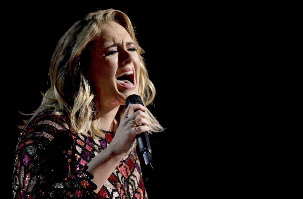 So sieht die britische Sängerin Adele nicht mehr aus. Foto: dpa/Matt Sayles