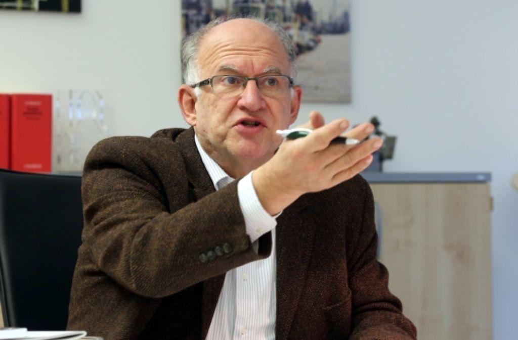 Datenschützer Peter Schaar verstand sich nicht gut mit Innenminister Friedrich. Foto: dpa