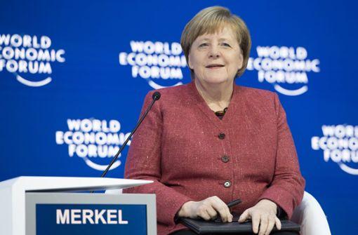 Merkel ist sich Wirkung ihrer Garderobe bewusst
