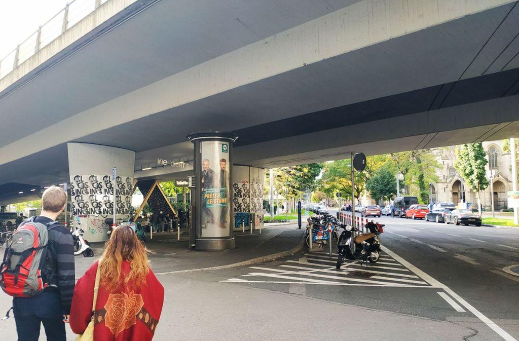 Wird die Paulinenbrücke wieder belebt? Foto: Kathrin Wesely