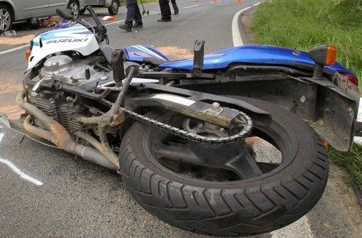 26.7.: Windböe erfasst Motorrad