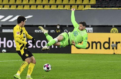 Borussia Dortmund nach 2:0 gegen Wolfsburg zurück auf Kurs