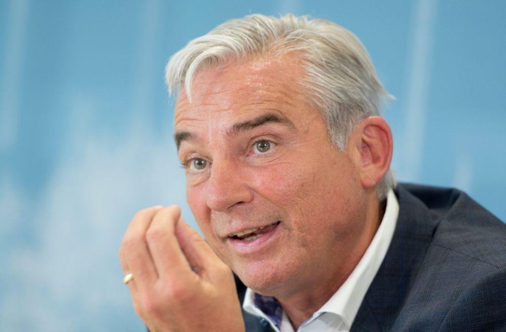 Vize-Regierungschef Thomas Strobl (CDU) hofft auf eine zügige Lösung bei der Erbschaftssteuer. Foto: dpa