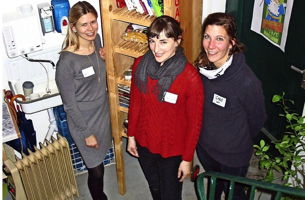 Sarah Lang,  Sarah Sutter und Carolin Jahode (von links) Foto: Susanne Müller-Baji