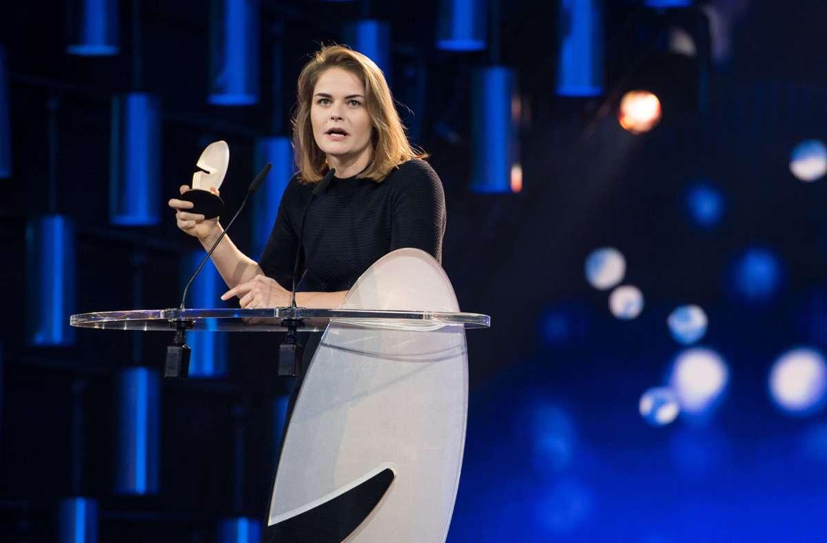 Die Schweizerin Hazel Brugger gibt ihre Schwangerschaft bekannt. Foto: dpa/Guido Kirchner