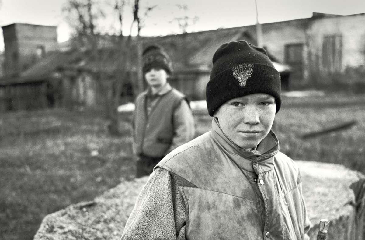 Hoffnung und Verzweiflung: den Kindern in Belarus fehlten Lebensmittel und Medikamente. Foto: Achim Zweygarth