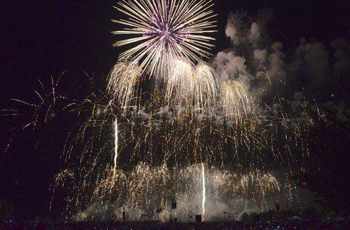 Spanisches Feuerwerk in Ostfildern