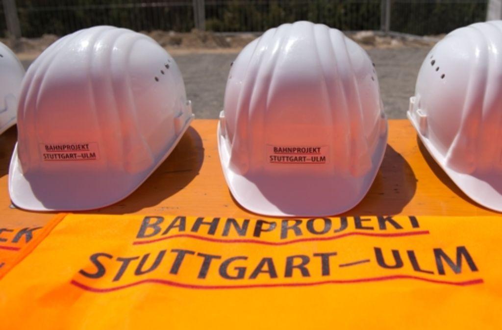Die Bahn hat eine neue Etappe beim Bau der Schnellfahrstrecke Wendlingen-Ulm begonnen. Foto: dpa