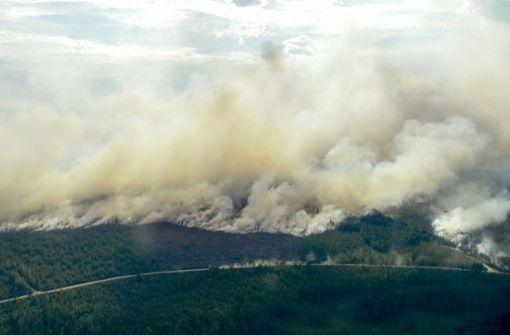 Waldbrände in Schweden außer Kontrolle