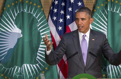 """Obama bezeichnet sich als """"Sohn Afrikas"""""""