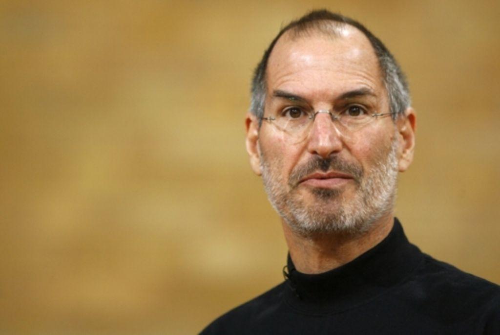Steve Jobs Foto: dapd