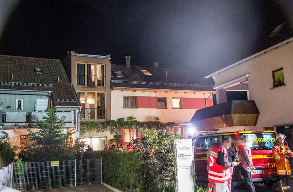 Die 52 Bewohner des Heims kamen im Gemeindehaus unter.  Foto: SDMG