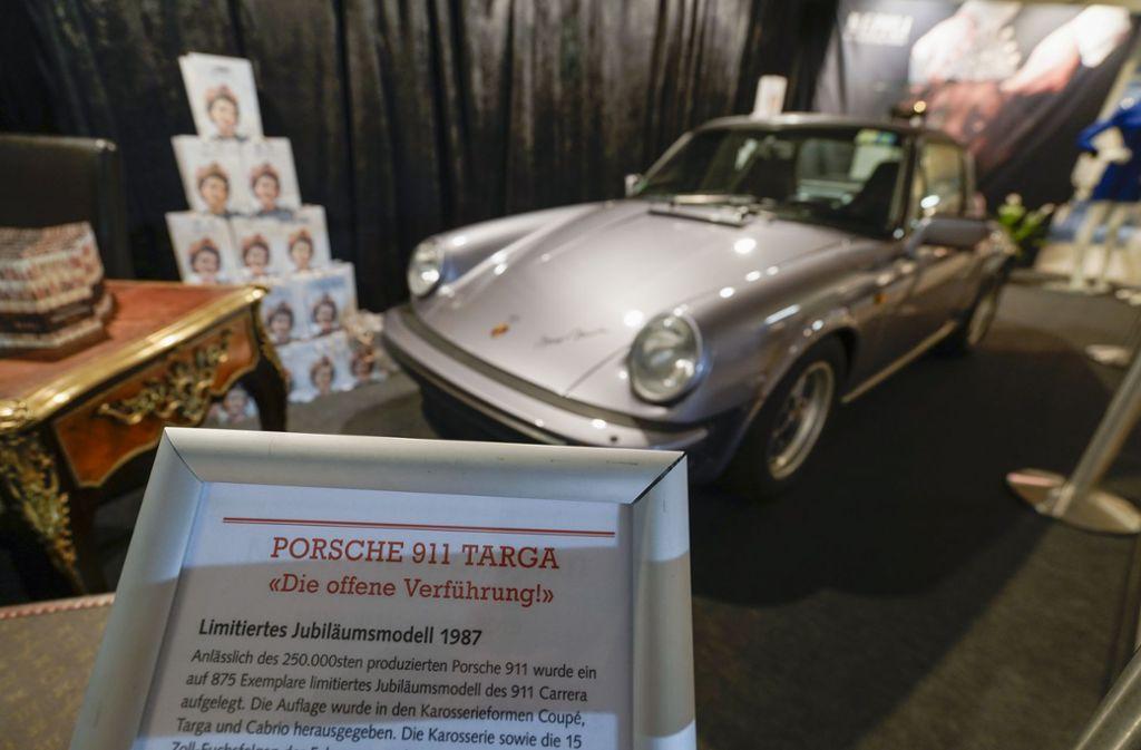 Eine exquisite Antiquität: ein Porsche Targa von 1987 Foto: factum/Jürgen Bach