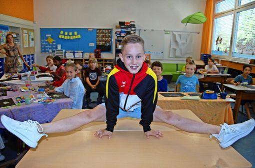 Perfekter Spagat zwischen Schule und Sport