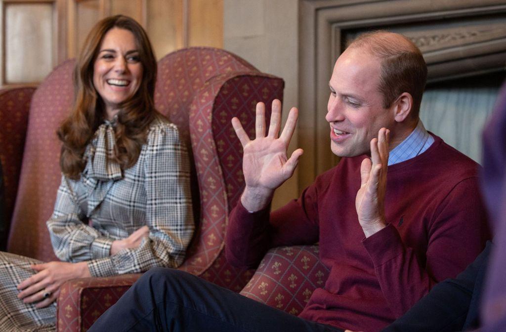 Herzogin Kate und Prinz William liegt das Wohlergehen von Kindern besonders am Herzen. Foto: AFP/CHARLOTTE GRAHAM