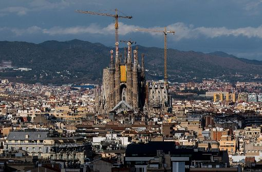 Kathedrale Sagrada Familia in Barcelona evakuiert