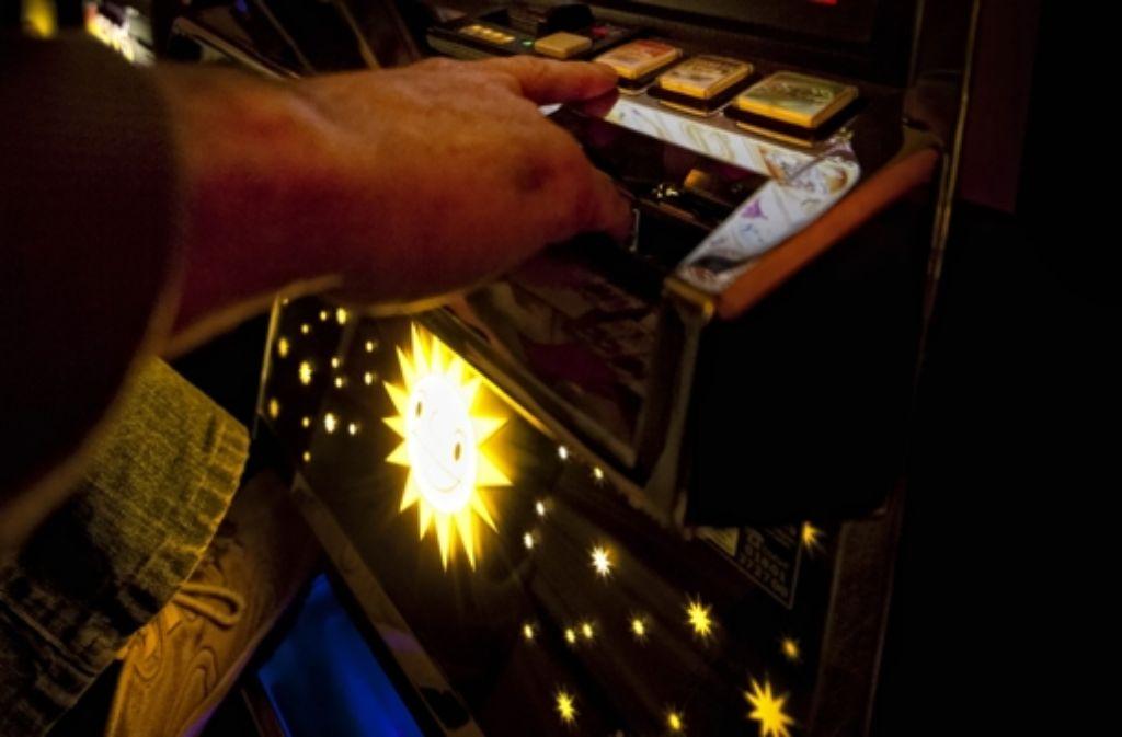 An Automaten und in Casinos hat ein Foto: Stoppel