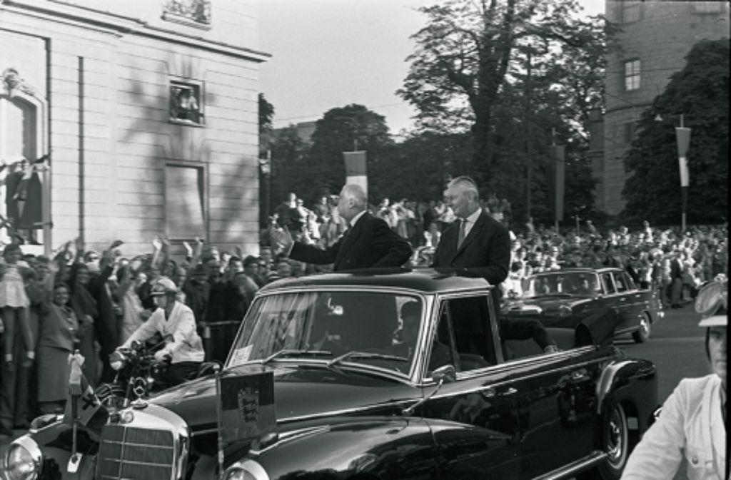 Charles de Gaulle und Foto: Archiv