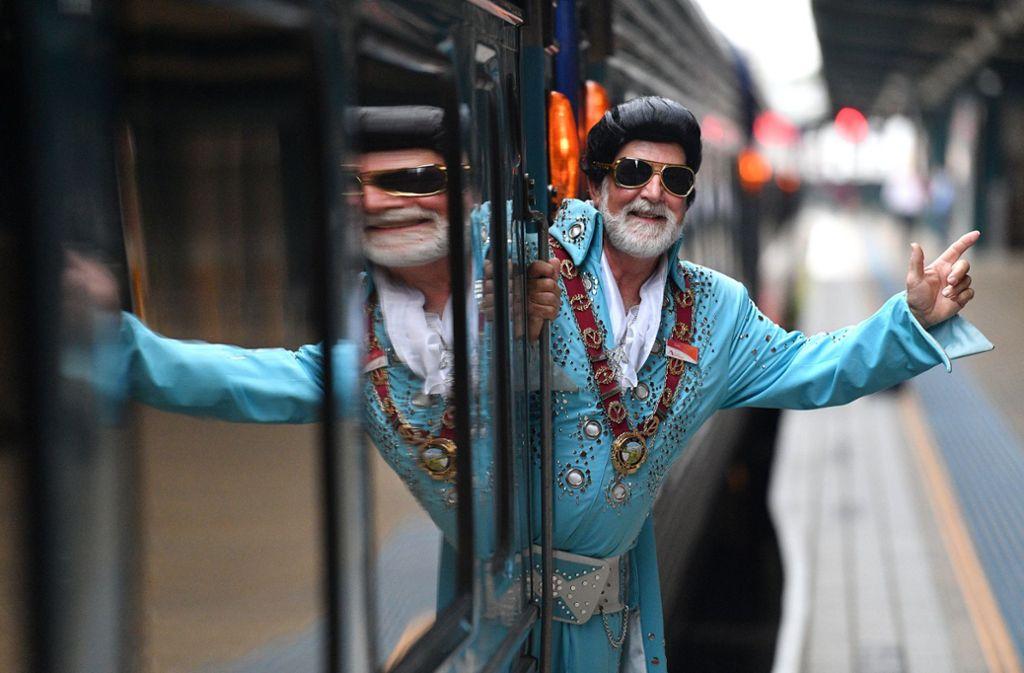 Ken Keith, Bürgermeister der Stadt Parkes, freut sich auf das Elvis-Festival ein seiner Kleinstadt. Foto: AAP
