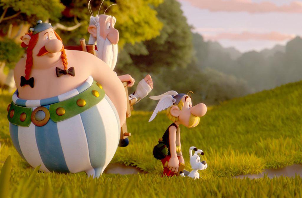René Goscinny und Albert Uderzo erfanden 1959 die Abenteuer von Asterix und Obelix. Foto: Universum Film/dpa
