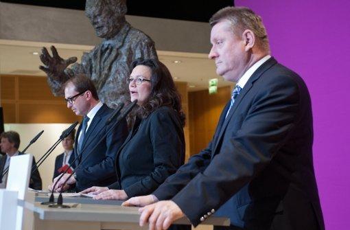 Union und SPD geben Versprechen ab