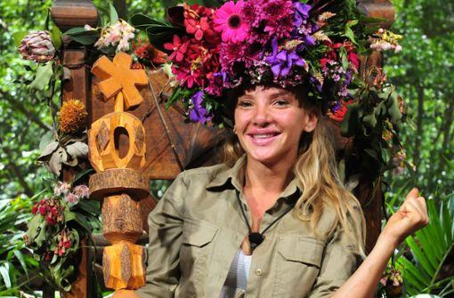 Evelyn Burdecki ist die Dschungelkönigin